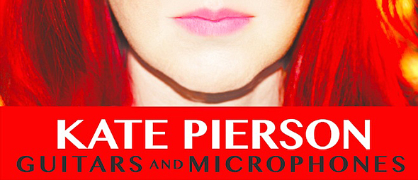 kate cover1 - Kate Pierson - Guitars and Microphones (Album Review)
