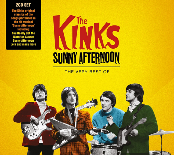kinks album cover - The Kinks - Sunny Afternoon: The Very Best Of (Album Review)