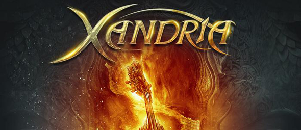 xandria album cover1 - Xandria - Fire & Ashes (Album Review)