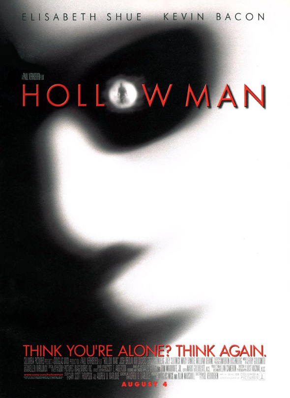 2000 poster hollow man 1 - Hollow Man 15 Years Later