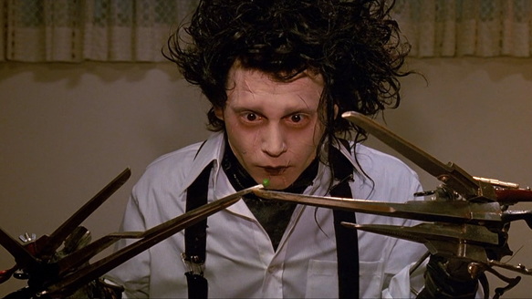 Edward Scissorhands 1 - Edward Scissorhands: A Gothic Classic 25 Years Later