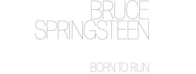 bruce slide - Bruce Springsteen - Born to Run 40 Years Later