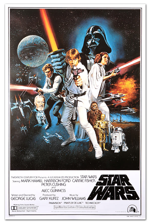 e948 classic star wars movie posters3 - Interview - Tony Perry of Pierce the Veil