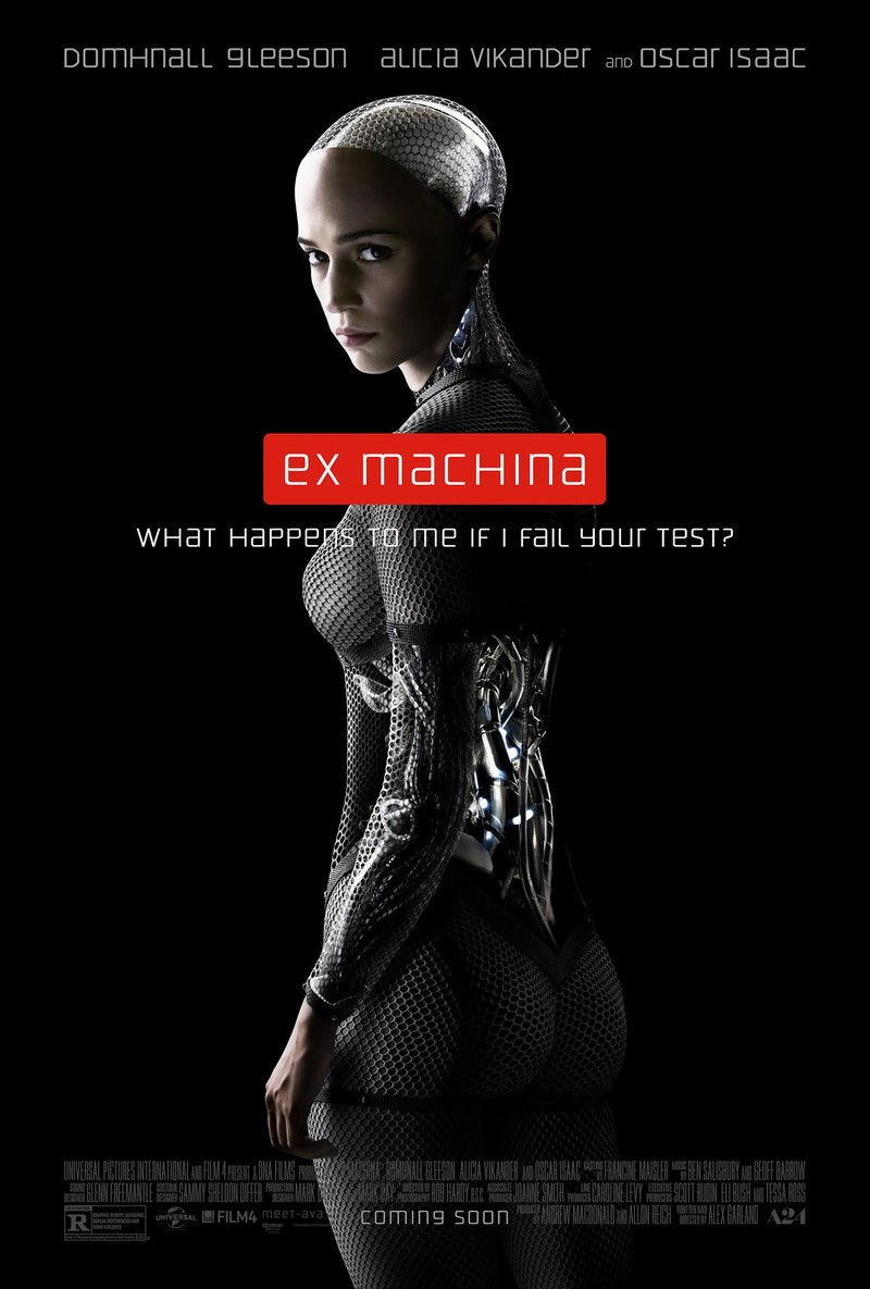 ex machina poster - Ex Machina (Movie Review)