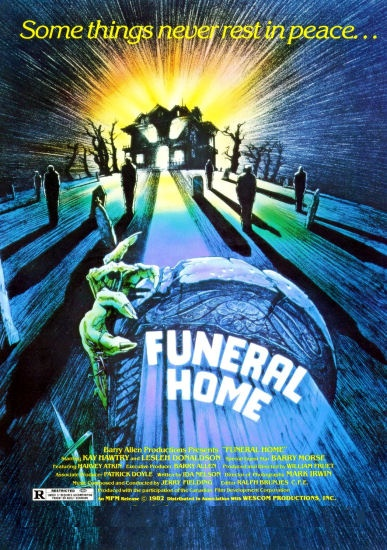 funeral home poster - What's In The Basement - Funeral Home 30 Years Later