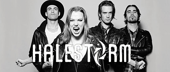halestorm slide - Halestorm Jump Into The Wild Life -  A Look Behind The Scenes