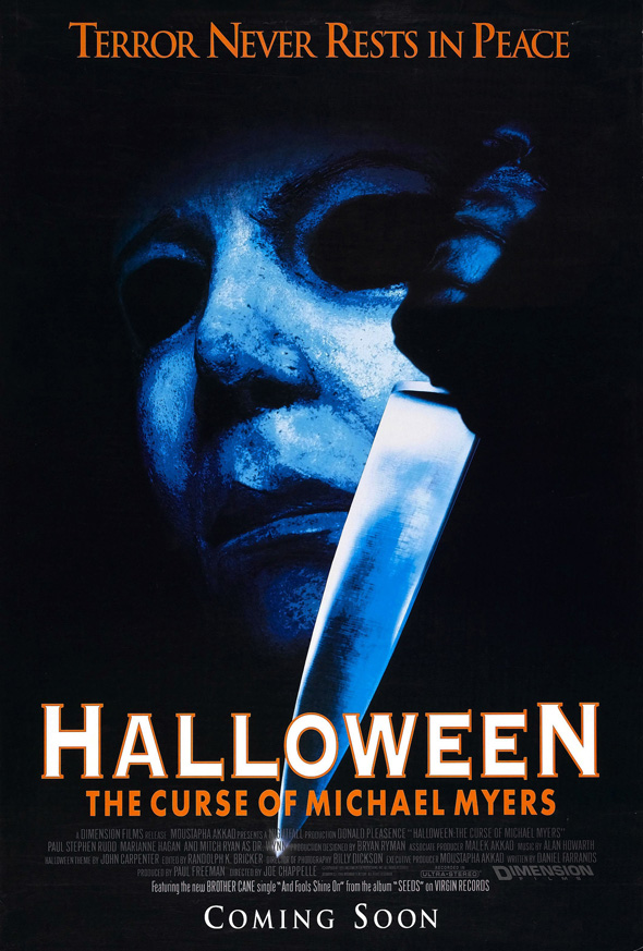 halloween 6 poster - Halloween: The Curse of Michael Myers 20 Years Later