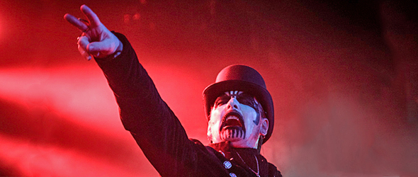 king slide 2 - King Diamond Haunts Playstation Theater, NYC 11-19-15 w/ Exodus