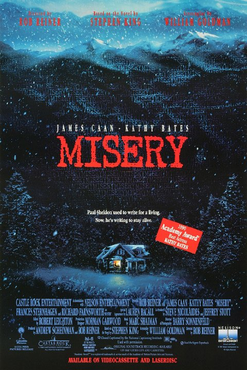 misery poster - Misery Still Shocking 25 Years Later