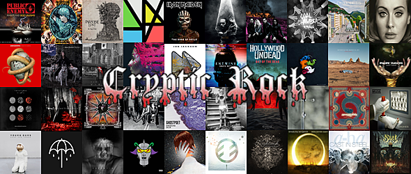new top 2015 albums - CrypticRock Presents: The Best Albums of 2015