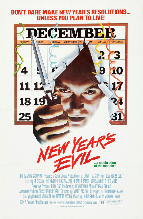 newyearsevil 1 - This Week in Horror Movie History - New Year's Evil (1980)