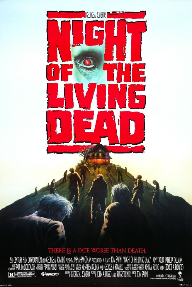 night of living dead 1990 poster 655x976 - 1990's Night of the Living Dead Standing Strong 25 Years Later
