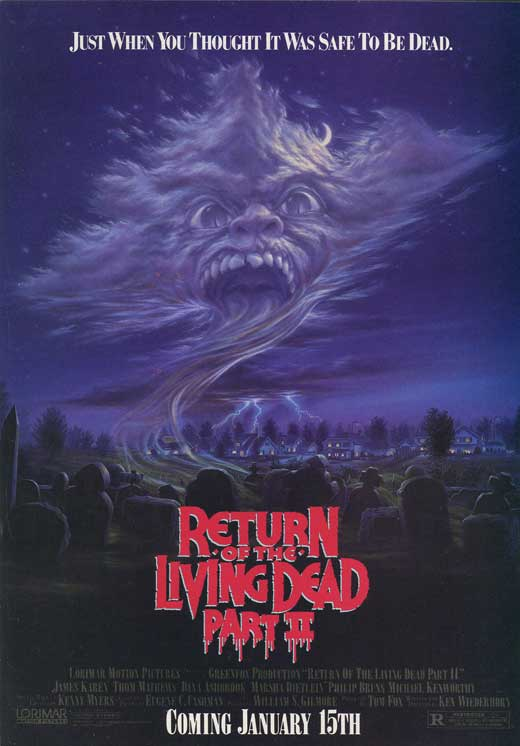 return of the living dead 2 - Interview - James Karen