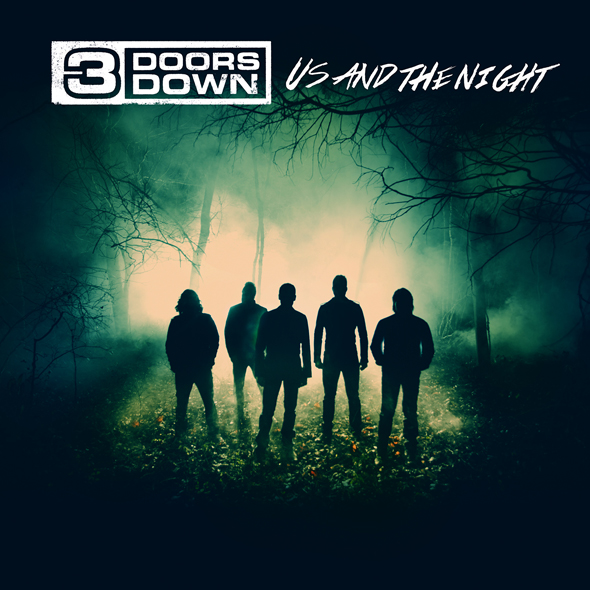 3DD COVER FNL - 3 Doors Down - Us and the Night (Album Review)
