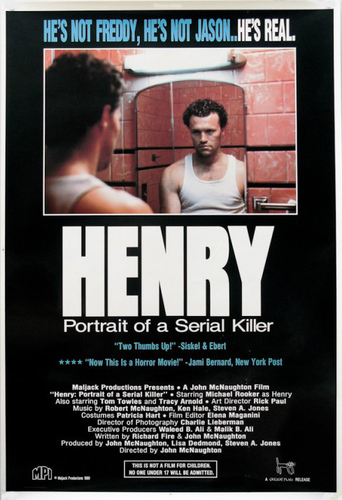 HenryPortraitofaSerialKiller onesheet USA 1 500x732 - Henry: Portrait of a Serial Killer - Terrifying 30 Years Later