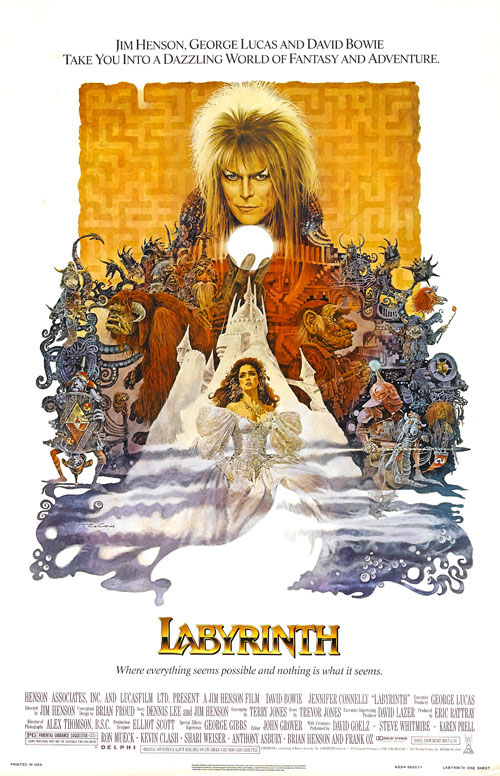 Labyrinth ver2 - David Bowie - Remembering A True Rock-n-Roll Hero