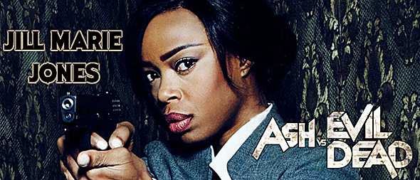 ash vs slide 2 - Ash vs Evil Dead - A Talk With Jill Marie Jones