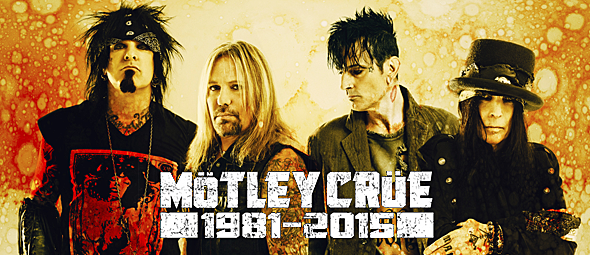 motley crue slide - Mötley Crüe - The End Of An Era