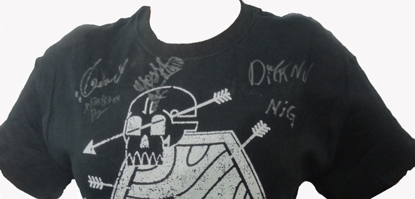november slide - Win A Neurotic November Signed T-shirt