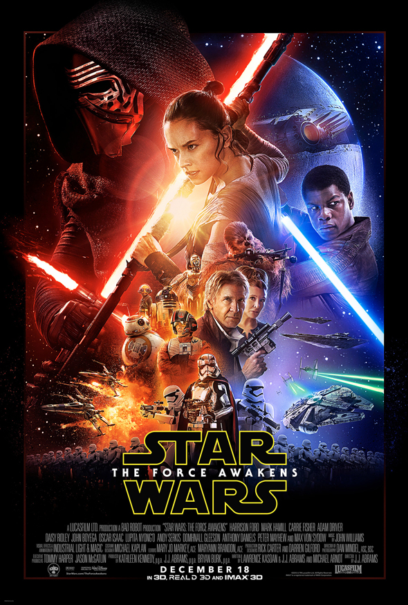 star wars force awakens official poster - Interview - Tony Perry of Pierce the Veil