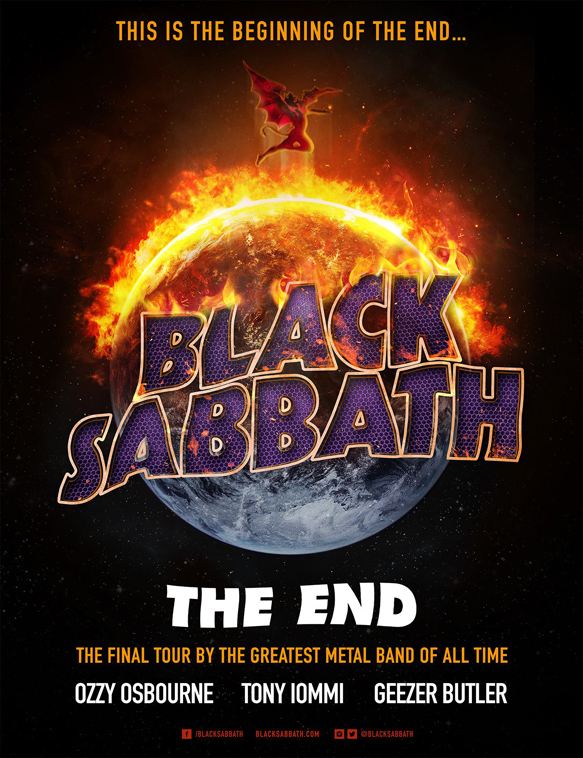 Black Sabbath the End poster - Interview - Michael Miley of Rival Sons