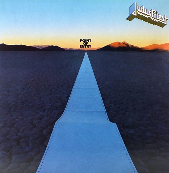 Judas Priest Point Of Entry US - Judas Priest's Point of Entry 35 Years Later