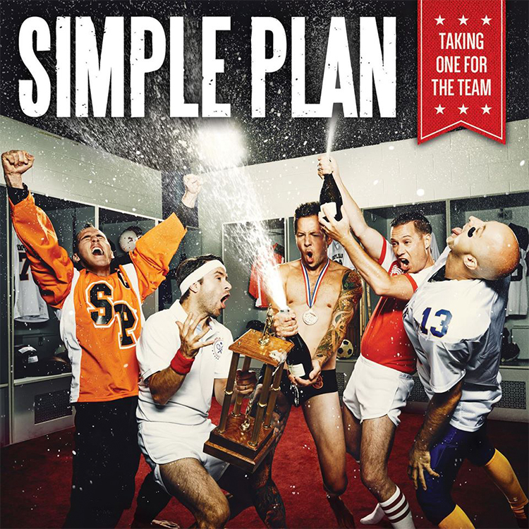 Simple Plan Taking One For The Team - Interview - Jeff Stinco of Simple Plan