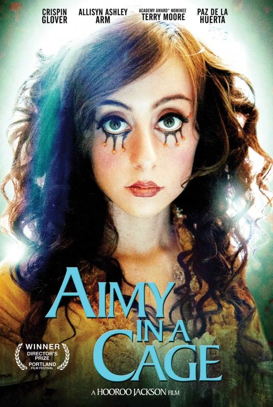 aimy poster - Aimy In A Cage (Movie Review)
