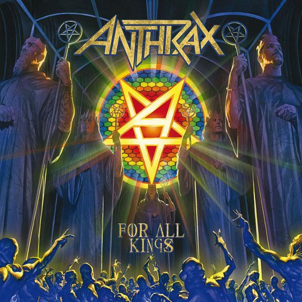 anthrax for all kings album new - Anthrax - For All Kings (Album Review)