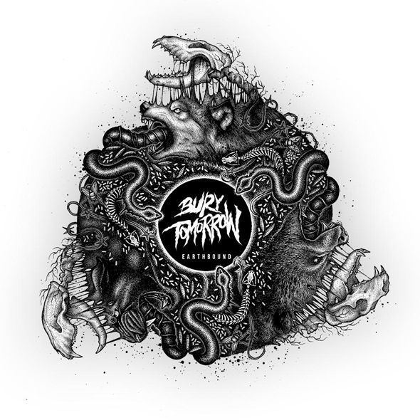 bury album cover - Bury Tomorrow - Earthbound (Album Review)