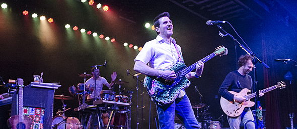 guster slide - Guster Delight Marquee Theatre Tempe, AZ 2-9-16 w/ Vetiver