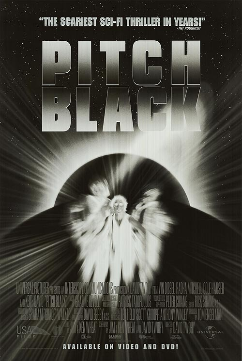 pitch black poster - This Week in Horror Movie History - Pitch Black (2000)