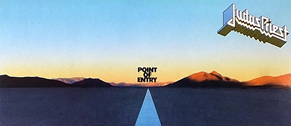 point slide - Judas Priest's Point of Entry 35 Years Later