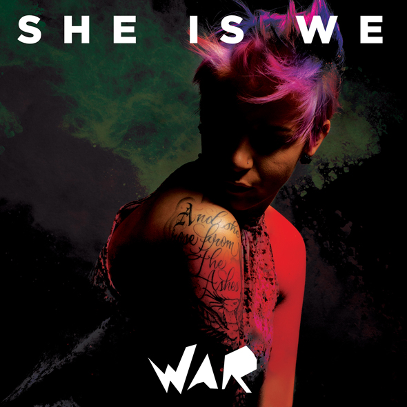 SheIsWe War 5x5 RGB - She Is We - War (Album Review)