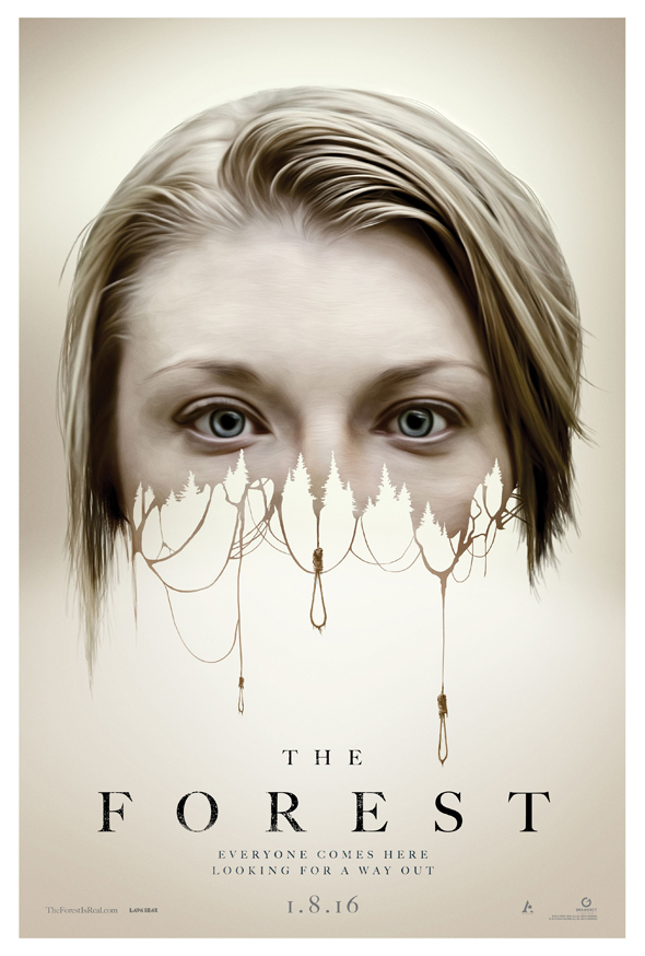 The Forest Movie Poster Natalie Dormer - The Forest (Movie Review)