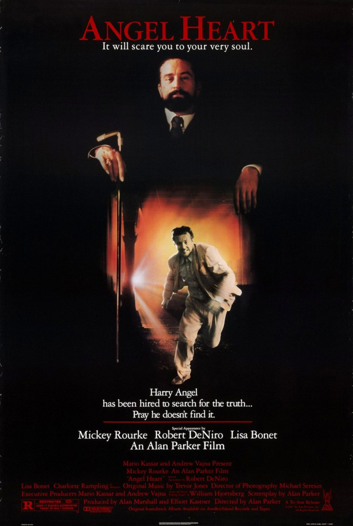 angel heart poster 687x1024 - This Week in Horror Movie History - Angel Heart (1987)