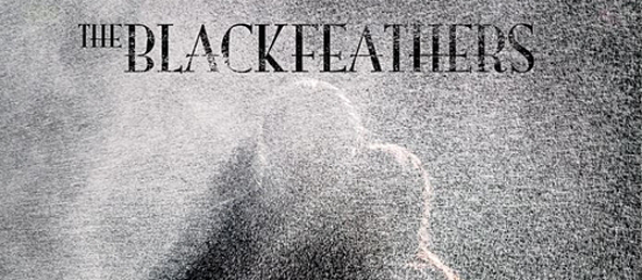 black feathers album cover - The Black Feathers - Soaked To The Bone (Album Review)