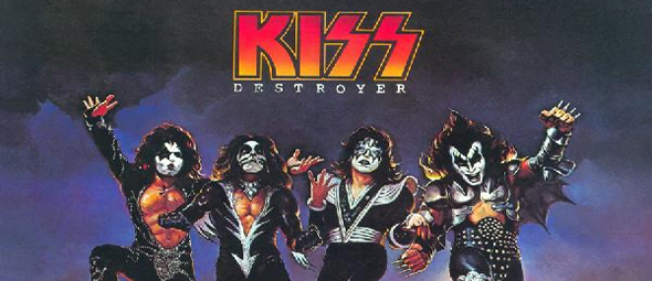 kiss destroyer cover - KISS' Destroyer Legendary 40 Years Later
