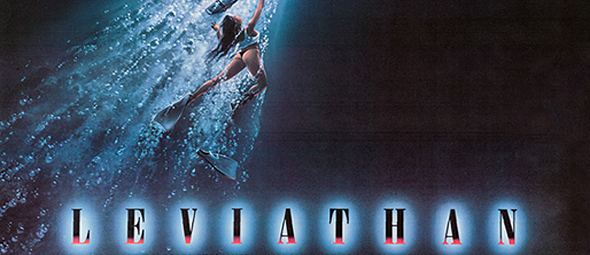 lev big slide - This Week in Horror Movie History - Leviathan (1989)