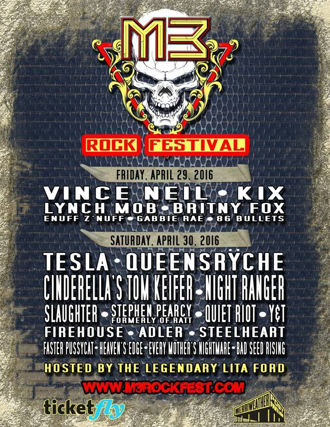 m3 2016 poster - M3 Festival Returns to Columbia, Maryland April 29th-April 30th
