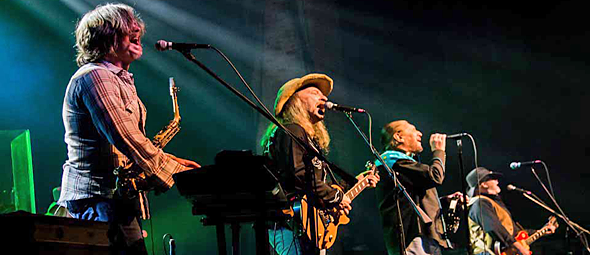marshall slide edited 1 - The Marshall Tucker Band Celebrate Longevity At The Paramount Huntington, NY 3-19-16 W/ Stolen Rhodes