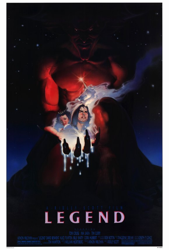 1986 legend poster2 - Legend - A Fantasy Masterpiece 30 Years Later