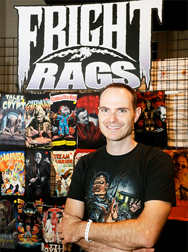 Ben pic - Interview - Fright-Rags Founder Ben Scrivens