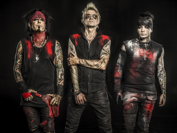 SAM promo photo - SiXX:A.M. – Prayers for the Damned Vol. 1 (Album Review)