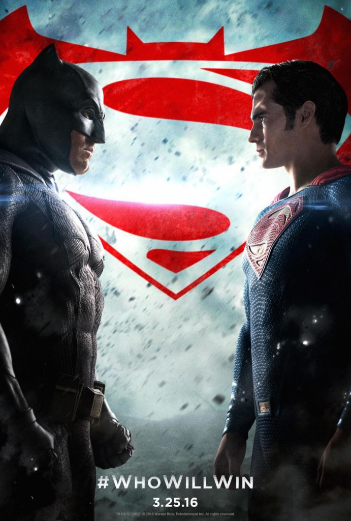 batman poster 691x1024 - Batman v Superman: Dawn of Justice (Movie Review)