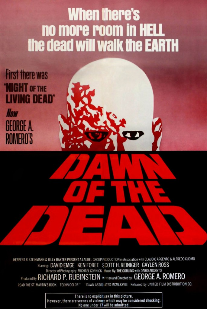 dawn of the dead poster 19781 685x1024 - This Week In Horror Movie History - Dawn of the Dead (1978)