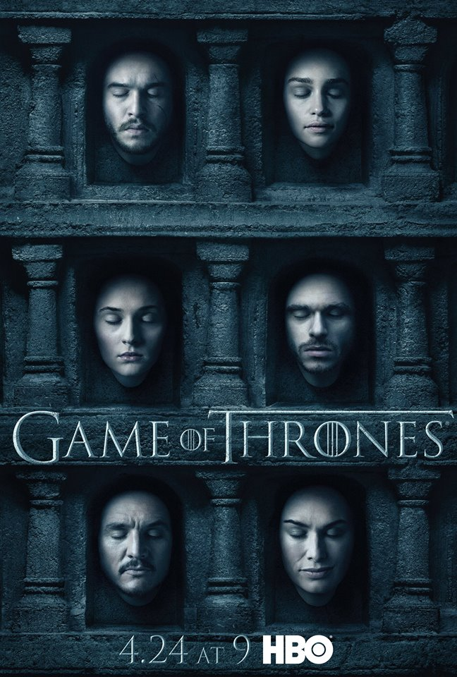 game of thrones poster - Game of Thrones - The Red Woman (Season 6/ Episode 1 Review)