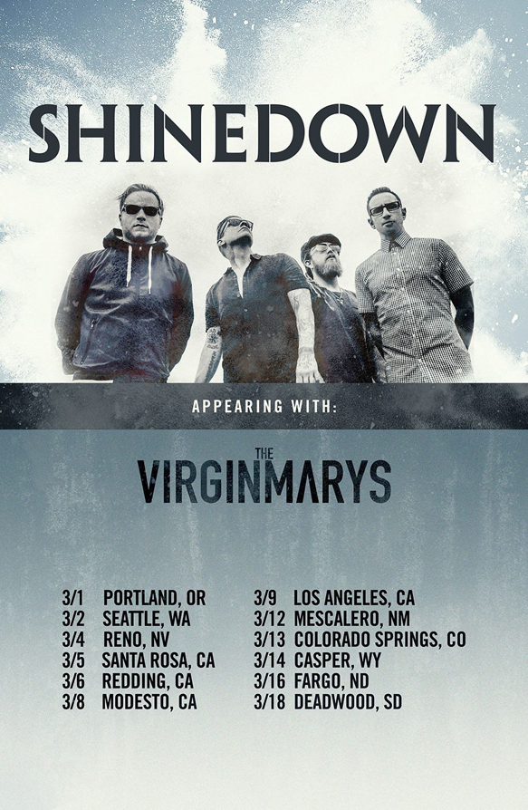 shinedown - Interview - Ally Dickaty of The Virginmarys