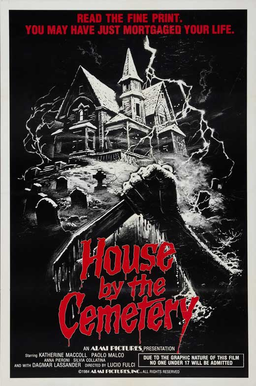 the house by the cemetery movie poster 1981 1020694710 - The House by the Cemetery - 35 Years of the Diabolical Dr. Freudstein
