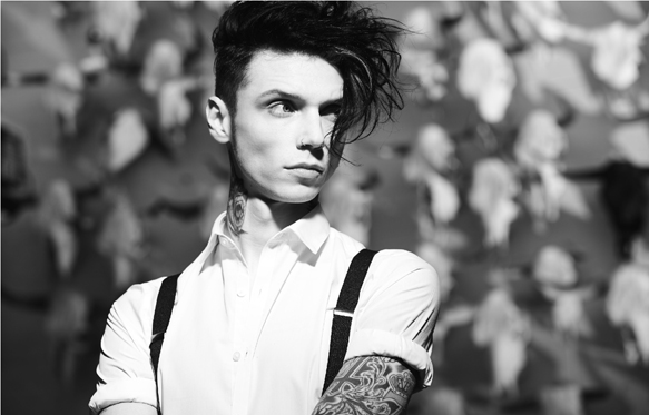 Andy Black promo Hi Rez Horizontal - Andy Black - The Shadow Side (Album Review)